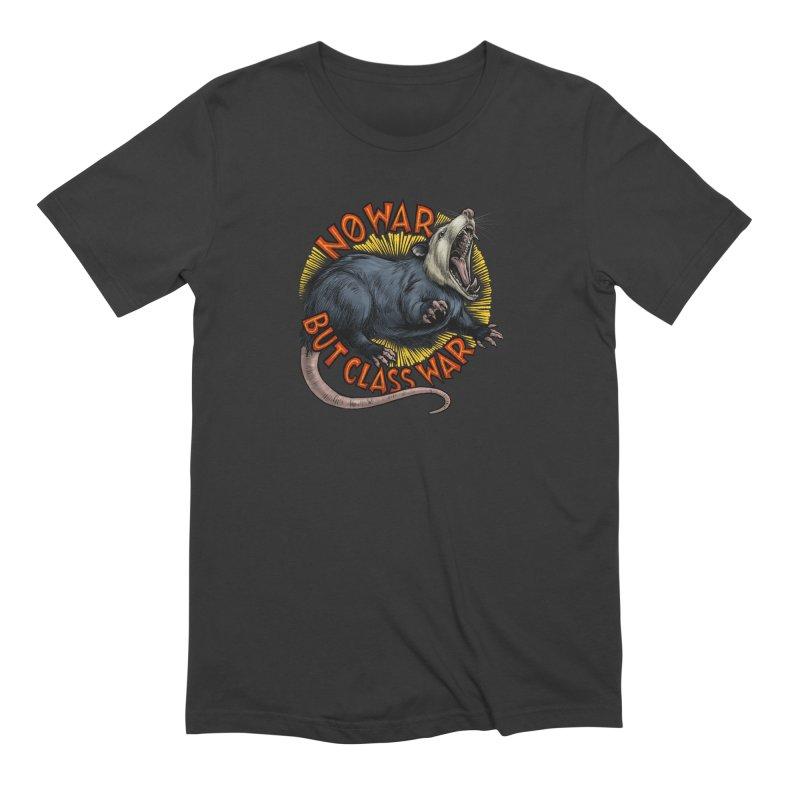 Class War Possum Men's T-Shirt by Octophant's Artist Shop