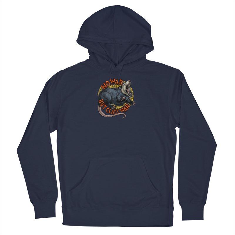 Class War Possum Men's Pullover Hoody by Octophant's Artist Shop