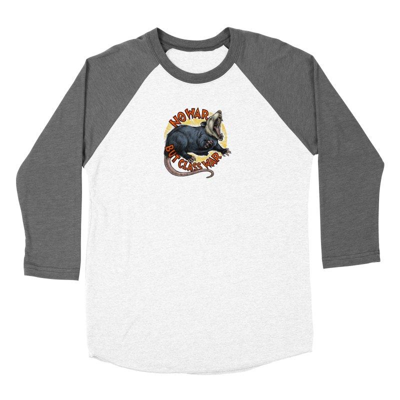Class War Possum Women's Longsleeve T-Shirt by Octophant's Artist Shop