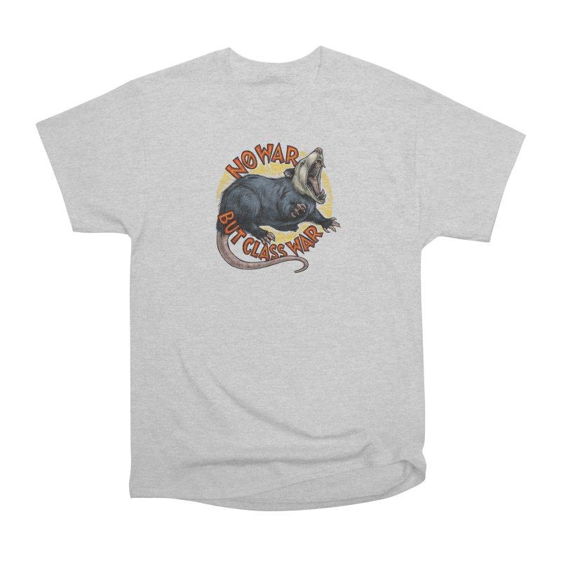 Class War Possum Women's Heavyweight Unisex T-Shirt by Octophant's Artist Shop