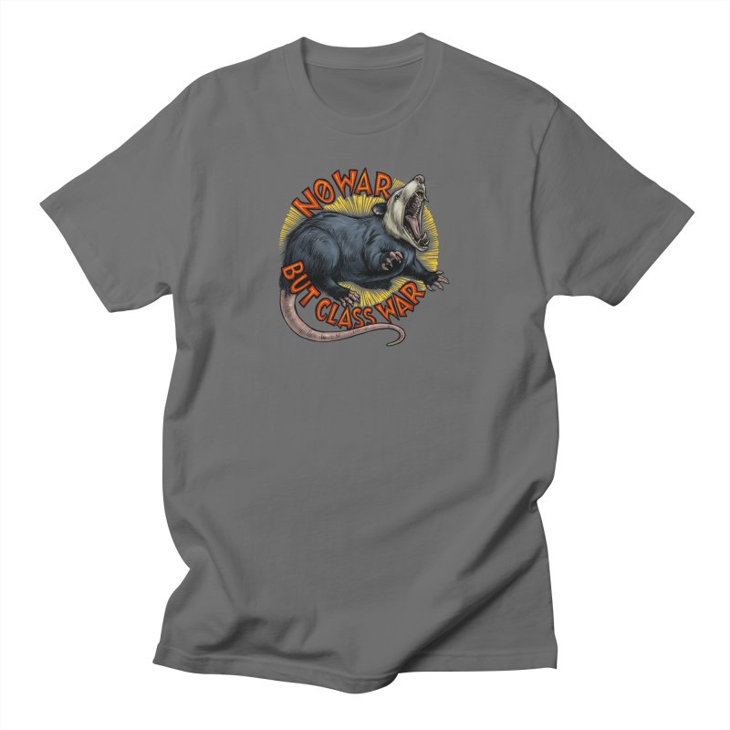 Class War Possum Men's T-Shirt by Octophant's Artist Shop