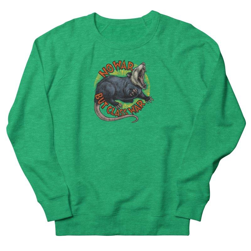 Class War Possum Women's Sweatshirt by Octophant's Artist Shop