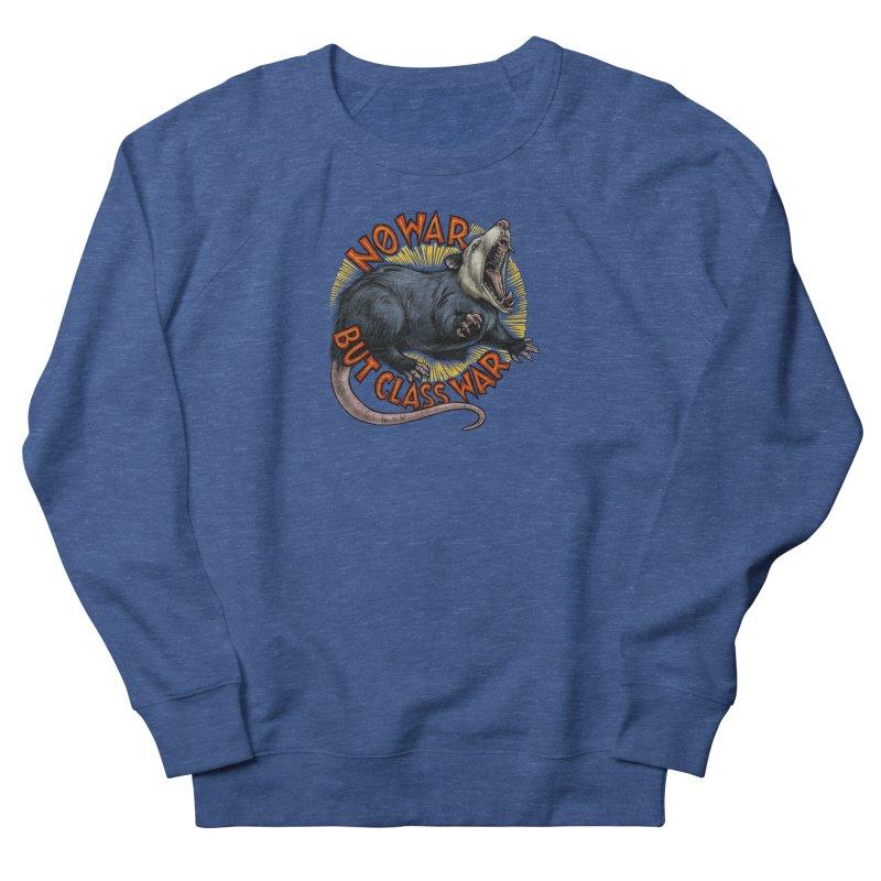 Class War Possum Men's Sweatshirt by Octophant's Artist Shop