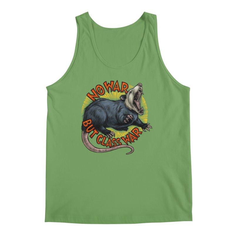 Class War Possum Men's Tank by Octophant's Artist Shop