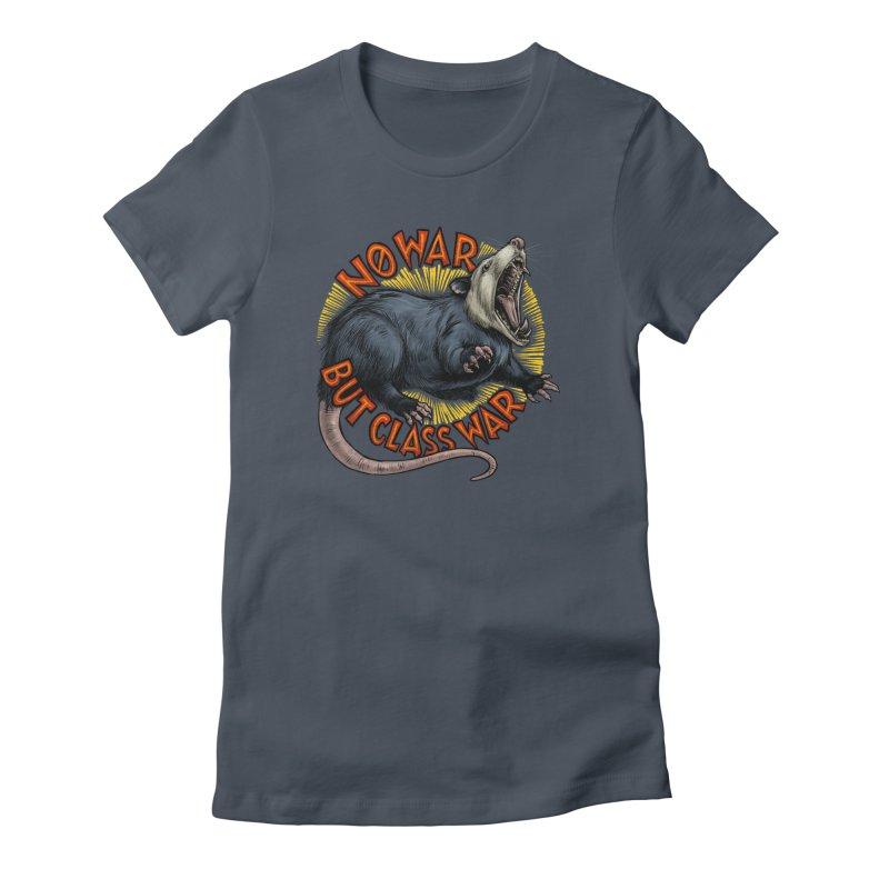 Class War Possum Women's T-Shirt by Octophant's Artist Shop