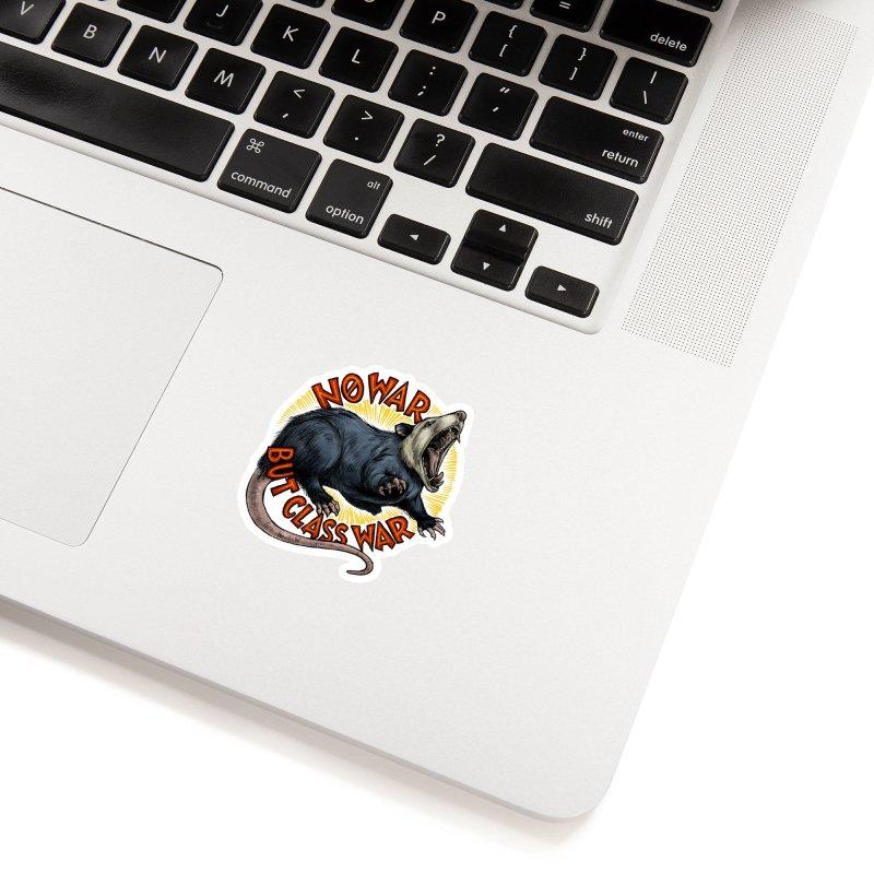 Class War Possum Accessories Sticker by Octophant's Artist Shop