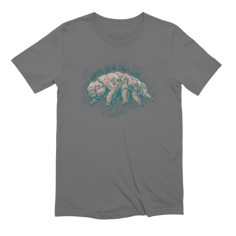 Water Bear Don't Care Men's T-Shirt by Octophant's Artist Shop