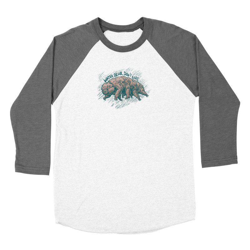 Water Bear Don't Care Women's Longsleeve T-Shirt by Octophant's Artist Shop