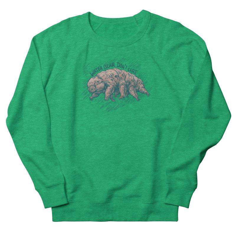 Water Bear Don't Care Women's Sweatshirt by Octophant's Artist Shop