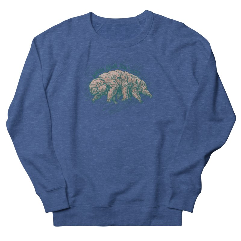 Water Bear Don't Care Men's Sweatshirt by Octophant's Artist Shop