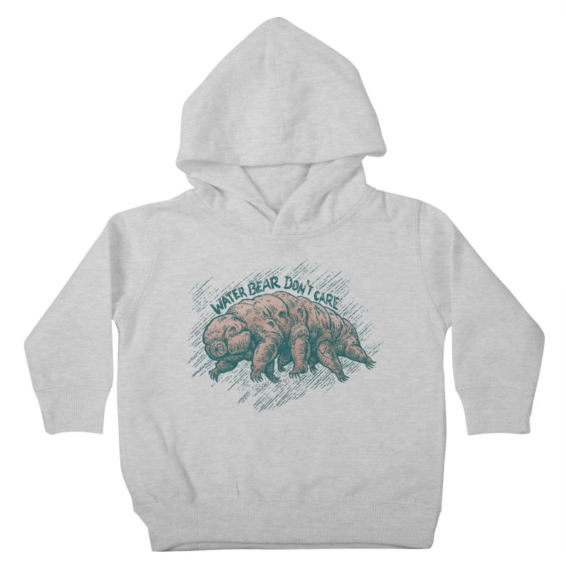 Water Bear Don't Care Kids Toddler Pullover Hoody by Octophant's Artist Shop