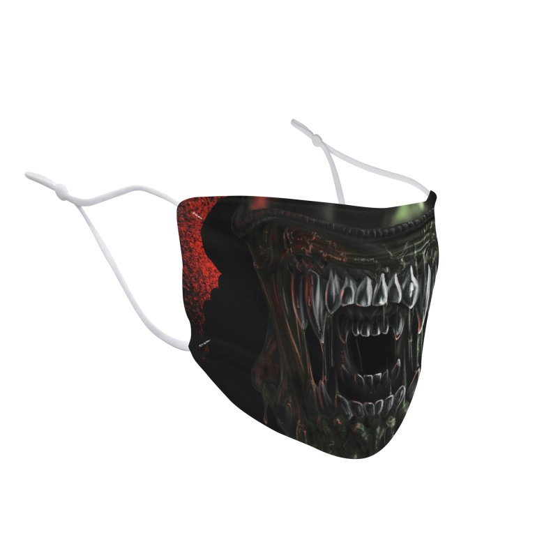 Xenophobe Accessories Face Mask by Octophant's Artist Shop