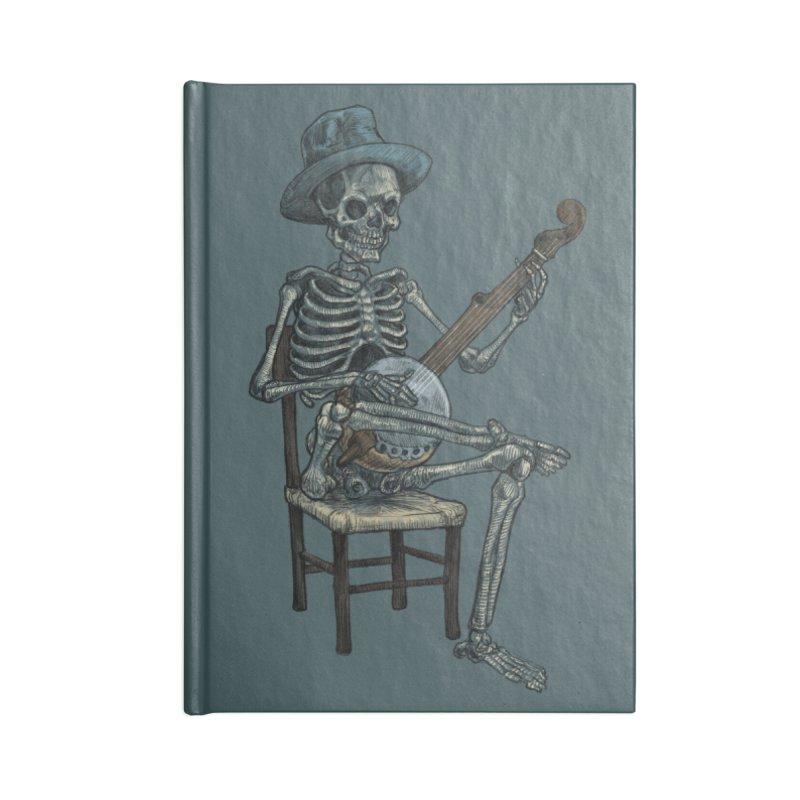Banjo Bones Accessories Notebook by Octophant's Artist Shop