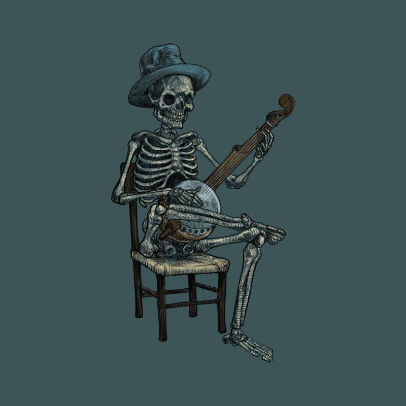 Banjo Bones Kids Longsleeve T-Shirt by Octophant's Artist Shop