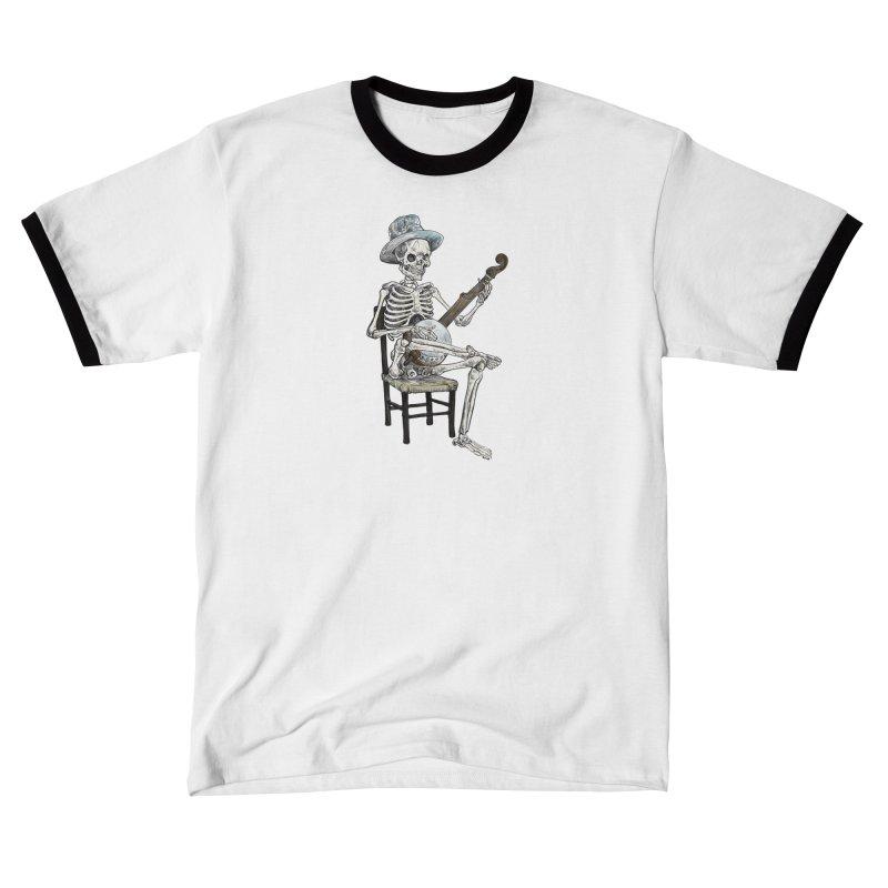 Banjo Bones Men's T-Shirt by Octophant's Artist Shop