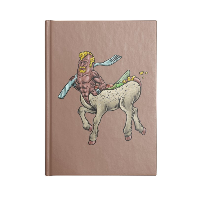 Hotdogataur Accessories Notebook by Octophant's Artist Shop