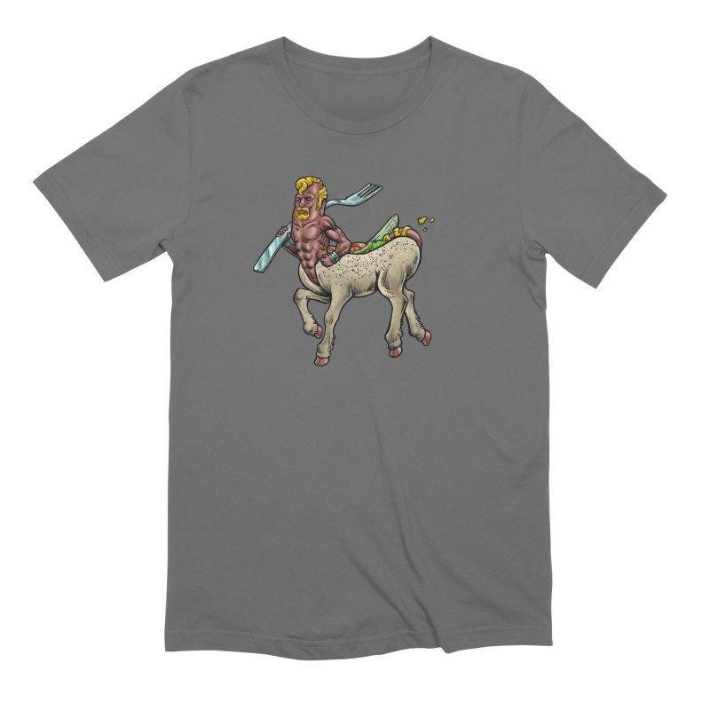 Hotdogataur Men's T-Shirt by Octophant's Artist Shop