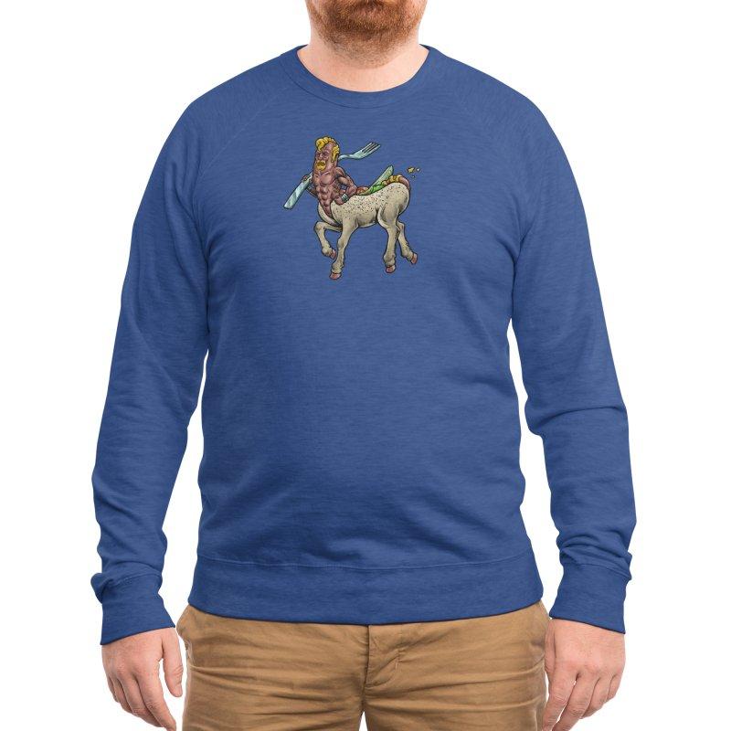 Hotdogataur Men's Sweatshirt by Octophant's Artist Shop
