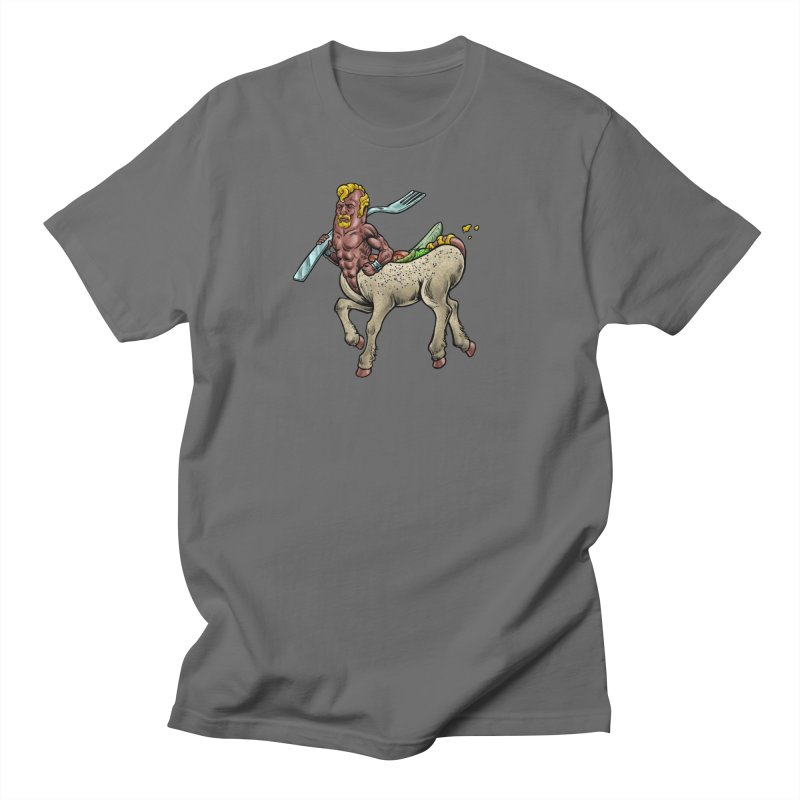Hotdogataur Men's T-Shirt by Octophant's Artist Shop