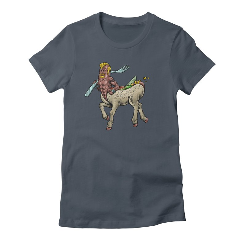 Hotdogataur Women's T-Shirt by Octophant's Artist Shop