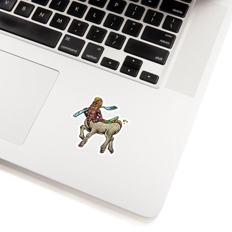 Hotdogataur Accessories Sticker by Octophant's Artist Shop