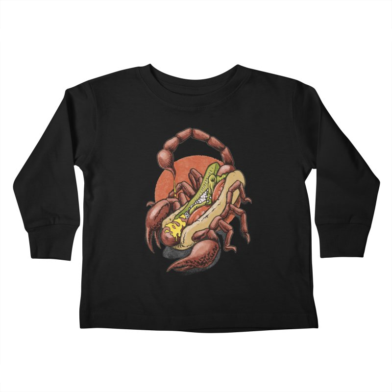 Chicago Style Scorpion Kids Toddler Longsleeve T-Shirt by Octophant's Artist Shop