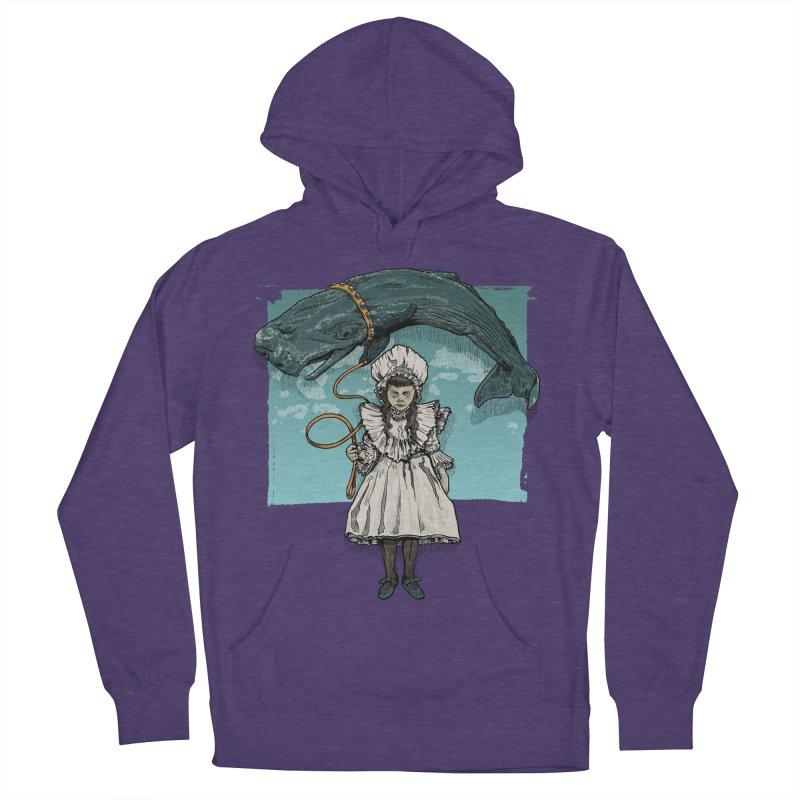 My Pet Whale Women's Pullover Hoody by Octophant's Artist Shop