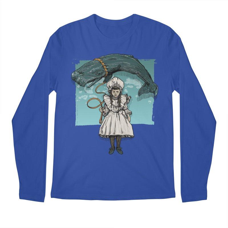 My Pet Whale Men's Longsleeve T-Shirt by Octophant's Artist Shop