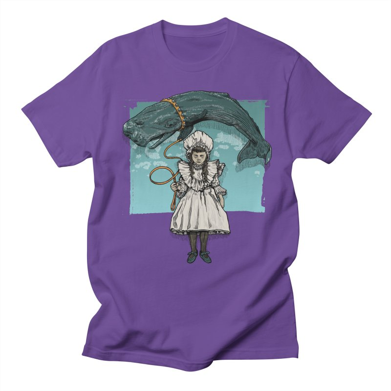 My Pet Whale Men's T-Shirt by Octophant's Artist Shop