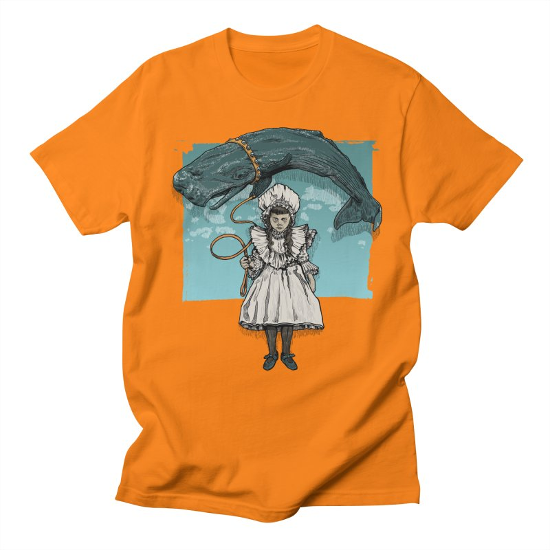 My Pet Whale Women's Unisex T-Shirt by Octophant's Artist Shop