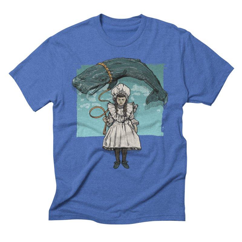 My Pet Whale Men's Triblend T-Shirt by Octophant's Artist Shop