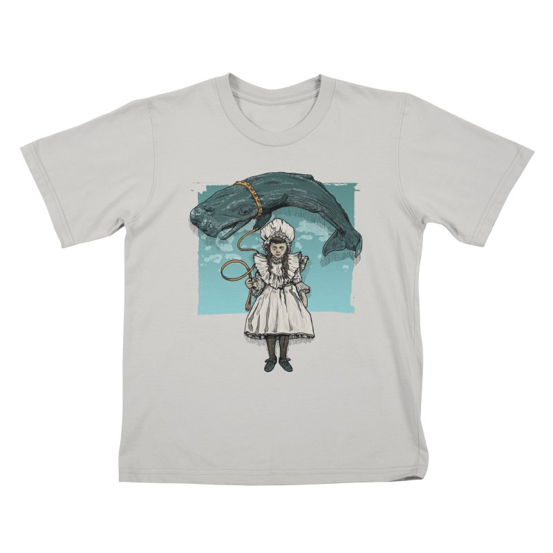 My Pet Whale Kids T-shirt by Octophant's Artist Shop