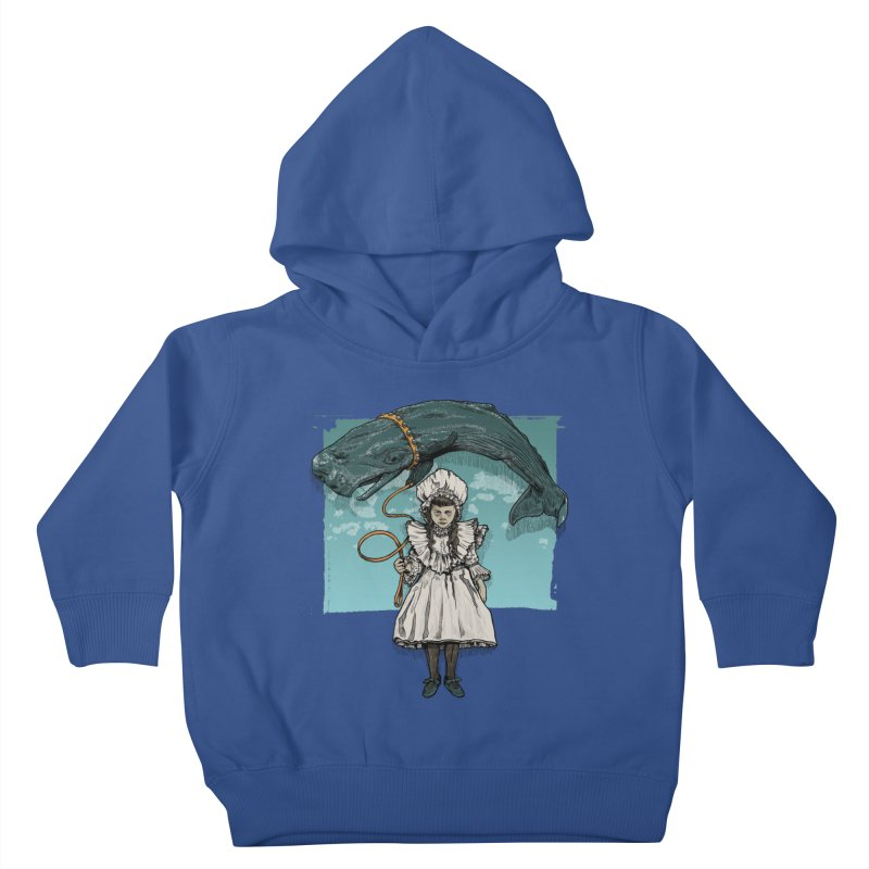 My Pet Whale Kids Toddler Pullover Hoody by Octophant's Artist Shop
