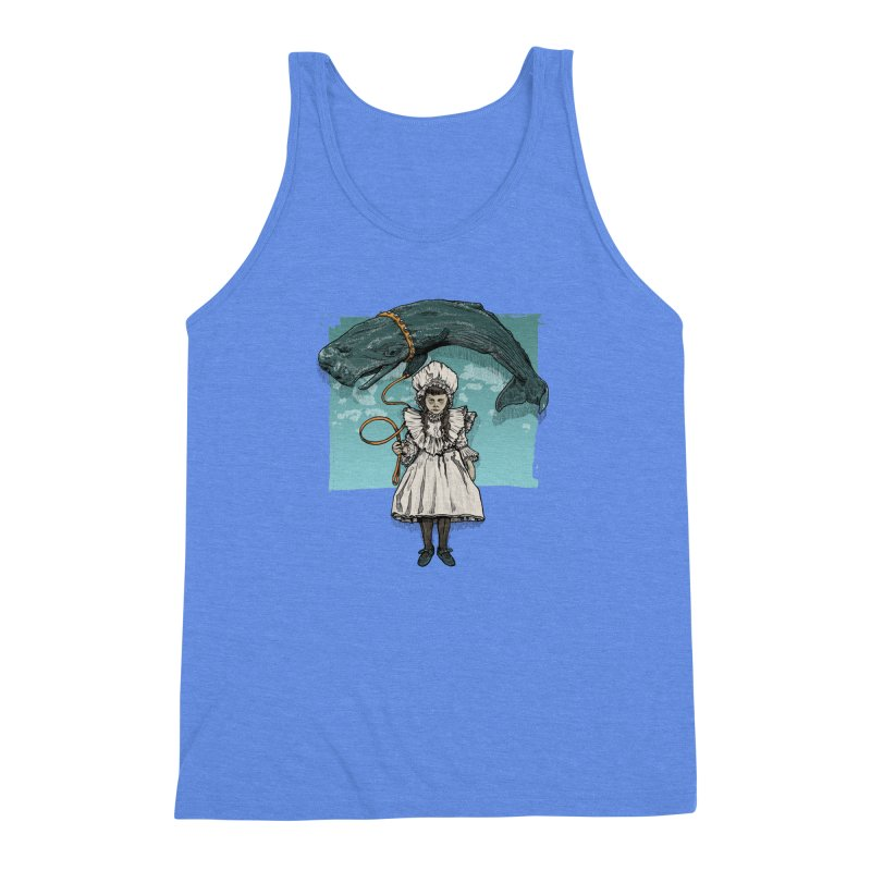 My Pet Whale Men's Triblend Tank by Octophant's Artist Shop