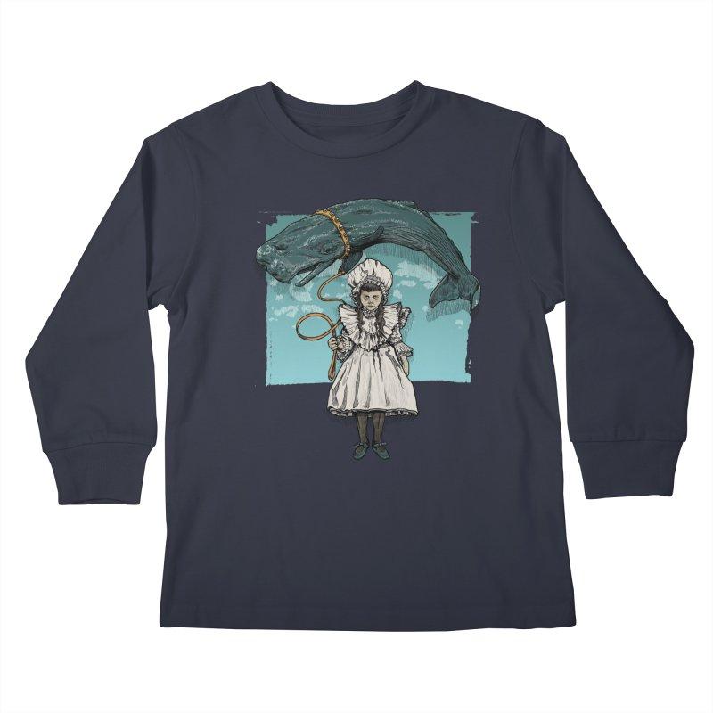 My Pet Whale Kids Longsleeve T-Shirt by Octophant's Artist Shop