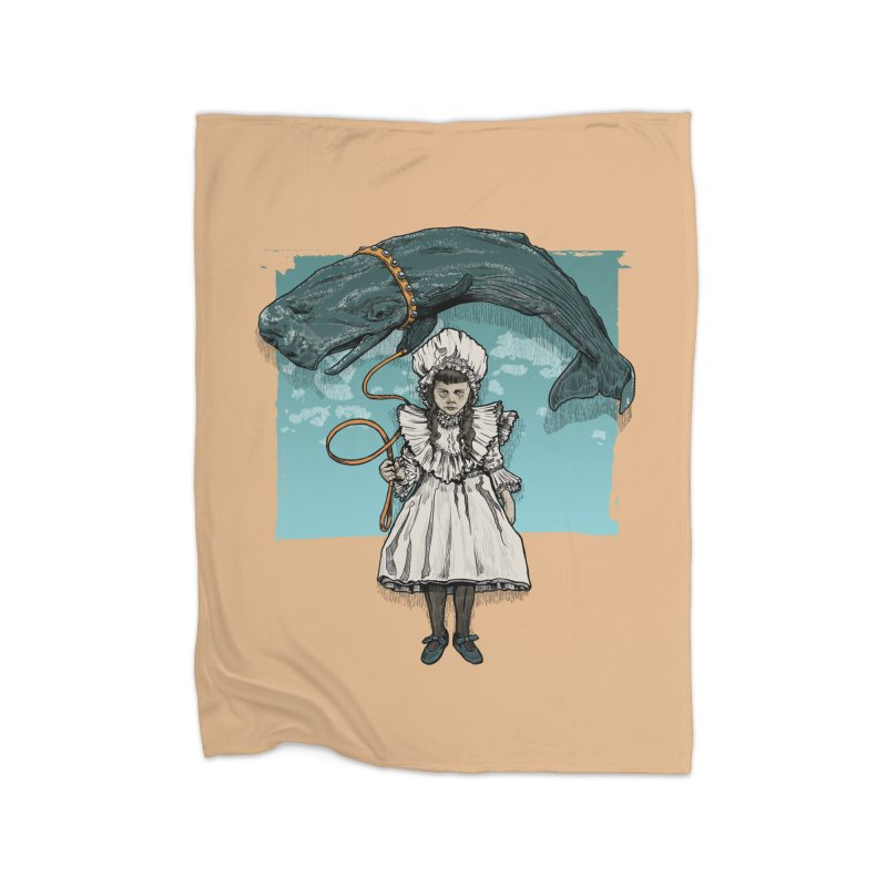 My Pet Whale Home Blanket by Octophant's Artist Shop