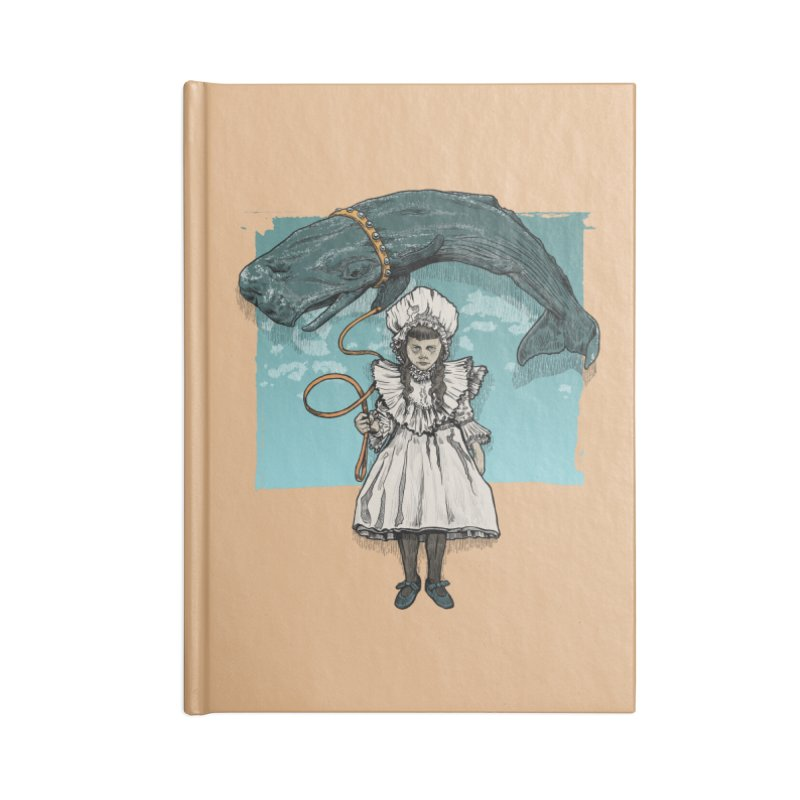 My Pet Whale Accessories Notebook by Octophant's Artist Shop