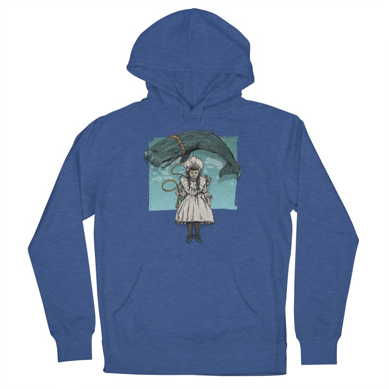 My Pet Whale Men's French Terry Pullover Hoody by Octophant's Artist Shop