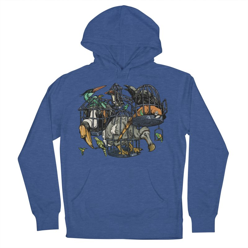 The Aviary Women's Pullover Hoody by Octophant's Artist Shop