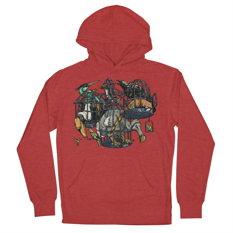 The Aviary Men's Pullover Hoody by Octophant's Artist Shop