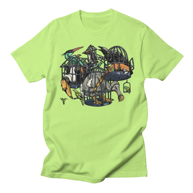The Aviary Men's T-shirt by Octophant's Artist Shop