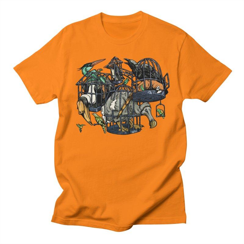 The Aviary Women's Unisex T-Shirt by Octophant's Artist Shop
