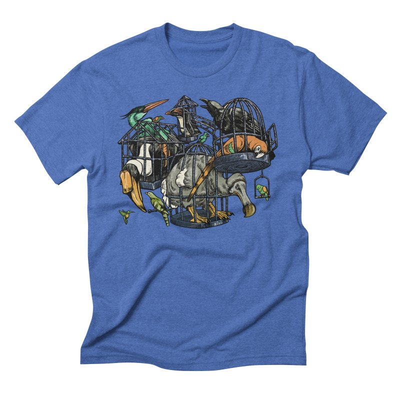 The Aviary Men's Triblend T-Shirt by Octophant's Artist Shop
