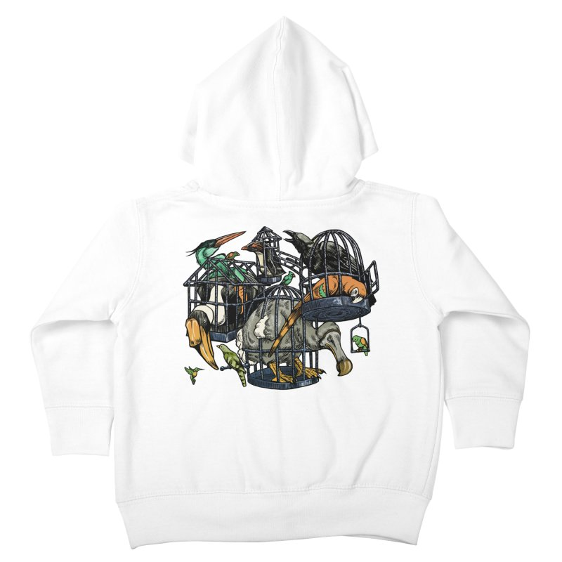 The Aviary Kids Toddler Zip-Up Hoody by Octophant's Artist Shop