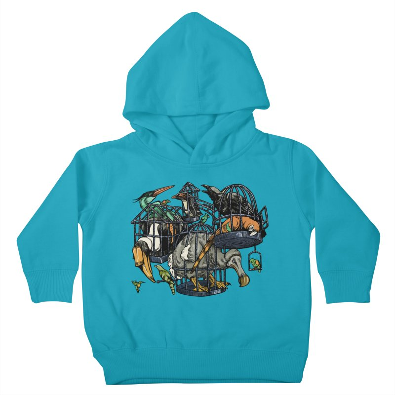 The Aviary Kids Toddler Pullover Hoody by Octophant's Artist Shop