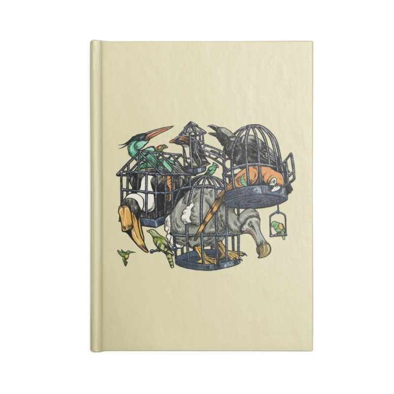 The Aviary Accessories Notebook by Octophant's Artist Shop