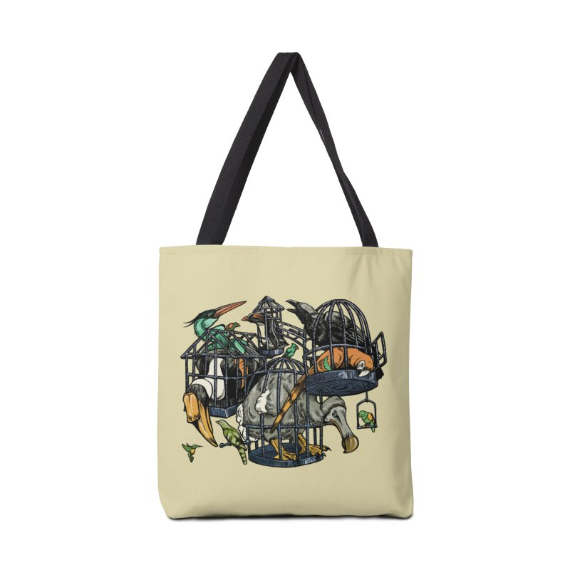 The Aviary Accessories Bag by Octophant's Artist Shop