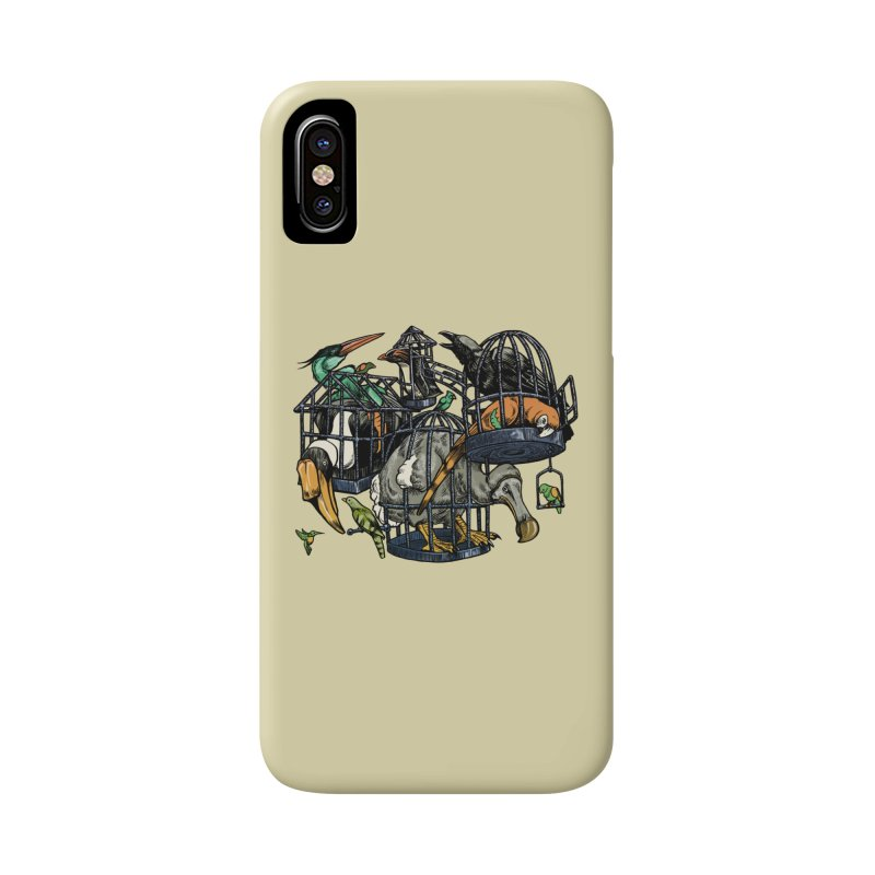The Aviary Accessories Phone Case by Octophant's Artist Shop