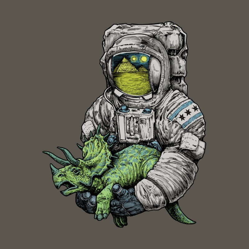 Astro Dino by Octophant's Artist Shop