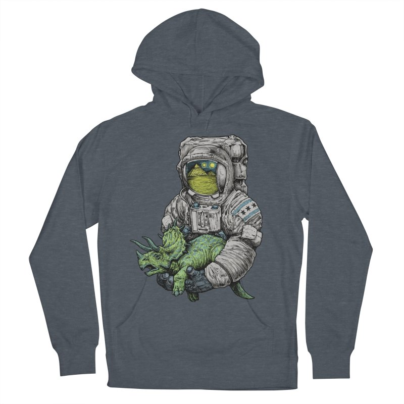Astro Dino Women's French Terry Pullover Hoody by Octophant's Artist Shop